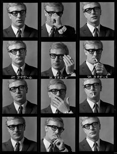 Michael Caine, 1964. Photograph by Brian Duffy.