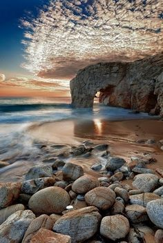 European Beaches -Port Blanc, Quiberon, Brittany, France