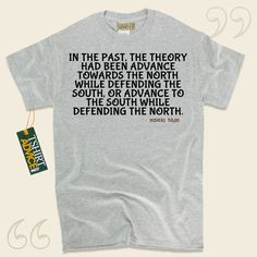 In the past, the theory had been advance towards the north while defending the south, or advance to the south while defending the north.-Hideki Tojo This  words of wisdom tshirt  will never go out of style. We provide you with popular  reference tops ,  words of understanding tees ,  idea... - http://www.tshirtadvice.com/hideki-tojo-t-shirts-in-the-past-life-tshirts/