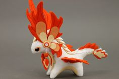 MADE TO ORDER Soft toy Quetzalcoatl dragon by UniversesSwirls