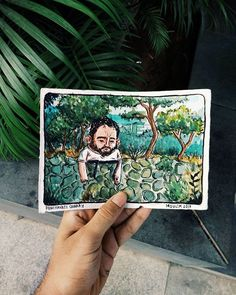 Illustrator @debangshumoulik Finds Knowledge and Makes It His Own