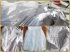 Very busy and a lot of sewing ... the progress of my work ...