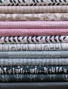 Glimma Complete Fabric Collection by Lotta by mountainofthedragon, $57.00