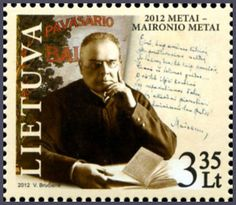 Lithuania Post to Issue a Stamp Dedicated to Priest and Poet Maironis