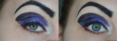 Sailor Saturn inspired makeup by https://piranhaprinzessin.com/2016/05/02/blogparade-sailor-moon-sailor-saturn/