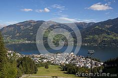 View From Schmittenhöhe To Zell Am See & Lake Zell Stock Image - Image of also, high: 60259353 Zell Am See, Salzburg, Autumn Fall, Alps, My Images, Sunny Days, Austria, Colorful, Seasons