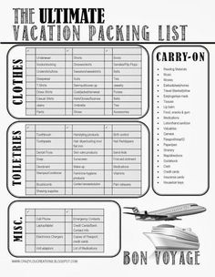 Beach Vacation Packing List With a Toddler Packing for a family trip can be daun. - MY Pins! Beach Vacation Packing List, Honeymoon Packing, Packing List For Travel, Packing Tips, Travel Tips, Travel Hacks, Mexico Vacation, Vacation Checklist, Cruise Vacation