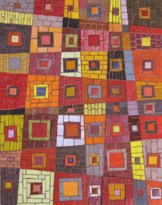 Sunset - Mosaic by Ilona Fried