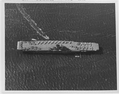 """lex-for-lexington:  """" """"USS Wasp (CV-7) In port in June 1942, with a motor launch coming alongside. Probably taken in San Diego Harbor, California. Planes on deck, some with wings folded, include SB2U scout bombers, TBD torpedo bombers and F4F-4..."""