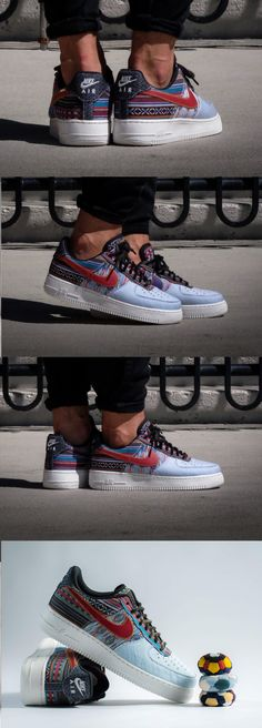 detailed look 968f9 39aa3  Nike  Air  Force 1  Low  Afro  Punk  Nike Air