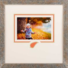 Custom frame your fall memories at The Great Frame Up! #fall #family #customframing #photos