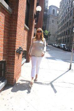 Keeping it stylish 9 months long! Maternity Maven - Early Fall Fashion - MomTrendsMomTrends