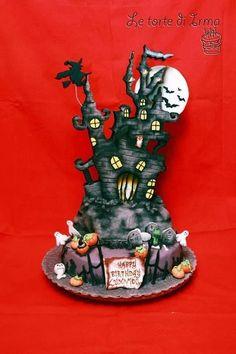 Halloween! ! Cake by Irma81