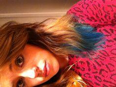 Ombré blue short hair :) #ombre #blue #hair #short