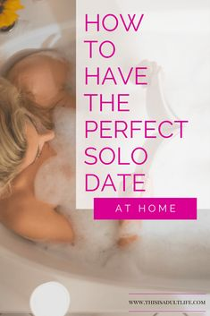 Recipe for the Perfect Solo Date | How to spend a night in | Pamper yourself | Best thing to do at home | This is Adult life