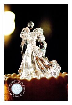 Elegant Cake topper; Wedding Photography of Raleigh NC Copyright Diane McKinney Photography http://dianemckinney.com