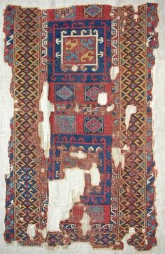 Early East Anatolian Kurdish rug fragment