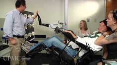 MESA: Paralyzed man moves robotic arm with his thoughts