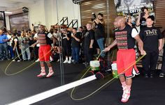 Floyd Mayweather Jump Rope - Boxing requires many skills that jump rope can provide. Discover the power of skipping rope using these techniques.