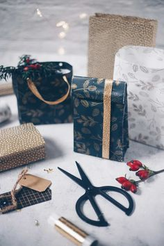 Diy Christmas Gifts, Gift Bags, Advent, Recycling, Presents, Gift Wrapping, Paper, Cards, Ideas Creativas