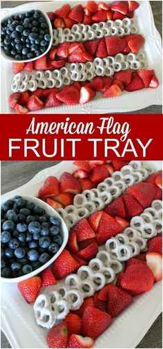 I have an awesome 4th of July Fruit Platter Idea that you've got to try this summer. It's super easy to make and it will be a big hit with everyone because it's adorable!