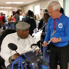 "Paralyzed Veterans of America on January 25, 2015, joined government agencies and other veterans service organizations in an effort to ""stand down"" for homeless #veterans."