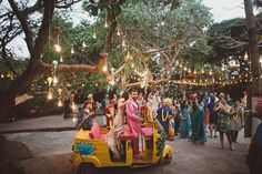 Narina and Tarek's Indian inspired wedding in Goa https://twitter.com/NeilVenketramen
