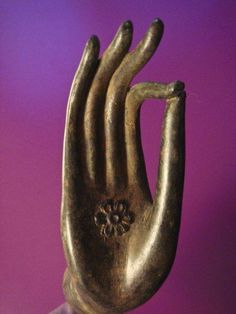 Vitarka mudra, sign of the Wheel of Law.        Your worst enemy cannot harm you as much as your own unguarded thoughts.— Siddhārtha Gautama