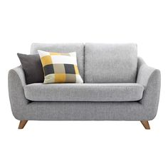 loveseats for small spaces | Cheap Small Sofa Decoration : Fascinating Grey Legged Cheap Small Sofa ...