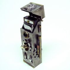SteamPunk Harmonica Case
