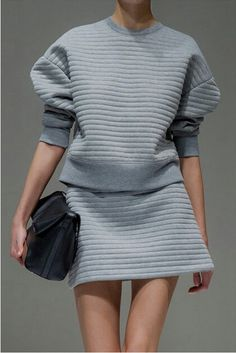 Grey Outfit. PHO. LONDON