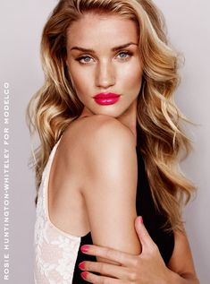 rosie modelco ads3 Rosie Huntington Whiteley Stuns in ModelCos Spring 2013/2014 Campaign