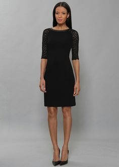 Lafayette 148 New York Finesse Crepe Collette Dress...Gorgeous!