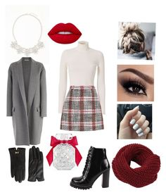 """""""Untitled #23"""" by elene-ioseliani on Polyvore featuring A.L.C., Carven, Old Navy, Lime Crime, Jeffrey Campbell, CÉLINE, Victoria's Secret and Ted Baker"""