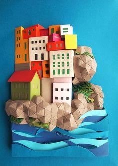 276fb6d78efe77cf114bd4fe449058d3 Paper Art by Janaki Lele.
