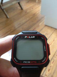 Testing the new Sportswatch Polar RC3 GPS
