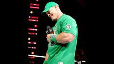 John Cena on Raw!