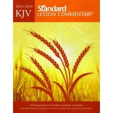As the nation's most popular annual Bible commentary for more than two decades, the Standard Lesson Commentary® provides 53 weeks of study in one convenient volume and combines thorough Bible study with relevant examples and questions. The KJV Standard Lesson Commentary for 2013 - 2014 is perfect as the primary resource for an adult Sunday school class and personal study or as a supplemental resource for any curriculum that follows the ISSL/Uniform Series.