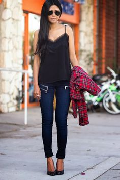 Pretty casual street style