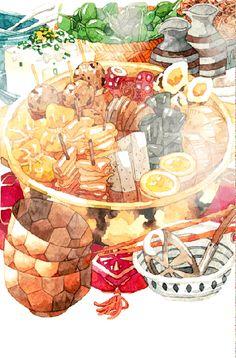 冬天吃火锅最舒服了 - 堆糖 发现生活_收集美好_分享图片