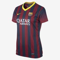 2013/14 FC Barcelona Stadium Women's Soccer Jersey