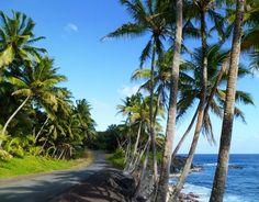Hidden Hawaii: The Enchanted Red Road along Puna Coast on the Big Island