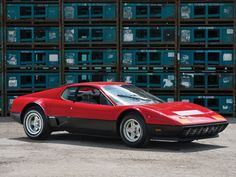 Ferrari 512 BB. I didn't like the way the 512 looked when it first came out. But it grew on me. I like it now.