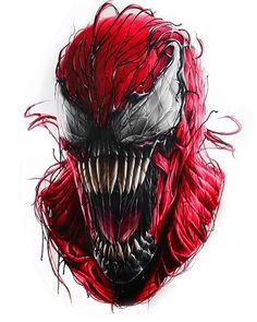 Carnage Marvel Venom, Marvel Villains, Marvel Dc Comics, Marvel Avengers, Deadpool Wallpaper, Marvel Wallpaper, Spiderman Art, Amazing Spiderman, Venom Art
