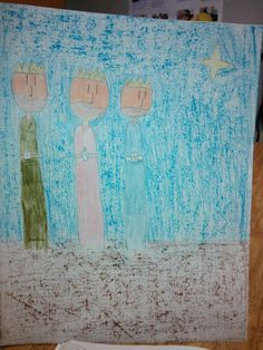 Three Kings, student art