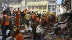 Deadly building collapse in Mumbai - CNN Video
