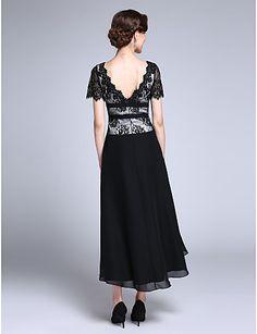 Lanting Невеста Футляр Платье для матери невесты Асимметричное Короткий рукав…