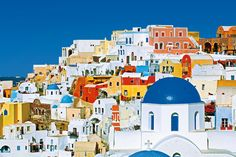 #Santorini colors, #Greece