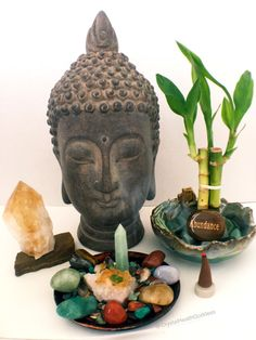 Zen Crystal Altar For Prosperity Using Feng Shui and Crystal Energy. Bring The Beauty, Positive Energy and Healing Properties Of crystals into your home!
