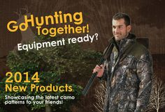 #New #TECLWOODCamo TECL-WOOD Go Hunting Together !